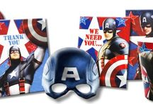 Captain America Birthday Party Ideas, Decorations, and Supplies / Captain America Party Supplies from www.HardToFindPartySupplies.com, where we specialize in rare, discontinued, and hard to find party supplies. We also carry several of the more recent party lines.