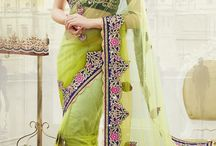 Party Wear Sarees / online designer sarees, Party wear sarees, designer sarees india, designer saree online shopping  / by www.indiabazaaronline.com
