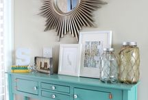 Entryway / Entryway rugs, console tables and lighting