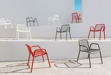 Outdoor chairs and armchairs / Design, colour and quality materials are guide lines for Ethimo's chairs and armchairs. A big range of options include elegance and comfort
