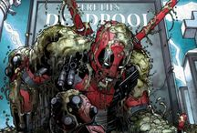 Marvel Deadpool Covers Collection at Wallure / http://wallure.com/index.php/uk/posters/marvel-deadpool-covers-collection.html