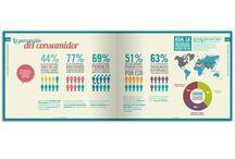 Diseño de infografía / Diseño de datos estadísticos de manera conceptual
