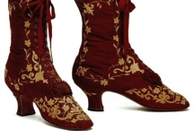 Fashion - Period Clothing (footwear) / Footwear from a bygone time that I constantly wish we could emulate.  / by California Fashionista