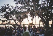 Tented elegant  Bay Preserve Wedding
