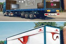Truck Graphics / Truck graphics are one of the most effective brand building tools available to marketers and offer many tactical opportunities as well. / by Shelagh Morrison