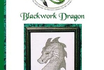 Cross Stitch:  Blackwork