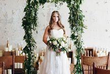 """Botanical / """"Green"""" Wedding / Wedding ideas"""
