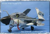 EA 6A WILD WEASEL 1/72