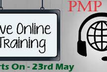 Trainings24x7 Live Online Sessions / This training is based on PMBok 5th Edition and the trainers are PMP Certified and real industry experts. In this session, candidates will get a comprehensive student manual, 6 simulation practice sets (200 questions 4 hours), mobile apps, post 45 days trainers' support (available on prior schedule), tips on how to filing up PMP examination form, tips on how to fill your experience in PMP application form, and so on. http://trainings24x7.com/pmp-live-online-training/