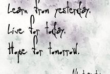 quotes / by Emily Edwards