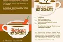 Diy hot choc flavoured drinks