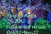 Detroit Mom's 2012 Holiday Gift Guide http://www.detroitmomandherviews.com/p/2012-holiday-gift-guide.html
