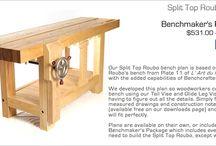 Split top workbench