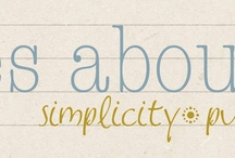 simplify & organize