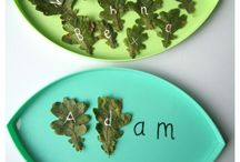 Name Activities for Preschoolers / Activities for Preschoolers to learn the letters in their name, and how to spell their name