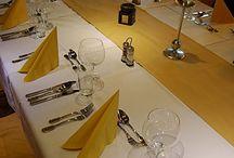 Interier / Restaurace Řízkárna pohledem z vnitřku.