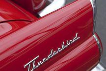 Thunderbird Cars! / Thunderbird cars are my favorite! / by Brenda Harris