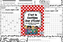 Holiday: Centième Jour D'école/100th Day of School