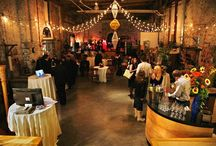Corradetti Wedding / Located in the heart of historic Clipper Mill in Baltimore, Corradetti Glass Studio & Gallery is the ideal venue for your private ceremony, intimate reception, and catered functions.  http://www.corradetti.com/partyrental.html