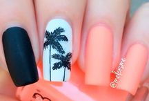 nail design tropical