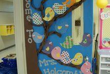 Húsvéti ajtó dekor