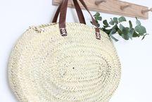 Inspiration accessoires / Paniers, sacs, pareo, chapeau....