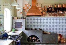 Fogão, churrasqueira externas
