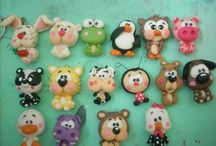 Animales jumping clay