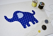 APPLIQUE PATTERNS FOR FELT AND FABRIC