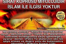 YANLIŞ BİLİNEN GERÇEKLER / İslam dininin tek kaynağı Kuran'dır. Günümüzde Kuran'da asla yeri olmayan akıl ve mantık dışı birçok hurafe, Rabbimiz'in bir rahmet ve şifa olarak indirdiği Kuran'a uyulmaması ve terk edilmesi sonucu ortaya çıkmıştır.