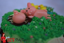 Sam's Farm Birthday Party Cake