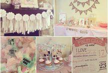 Finley's 1st Birthday  / Carousel party! / by Jenn Fugate