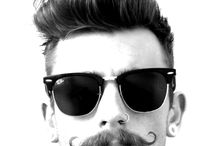 Hairstyle & Beards / Hairstyles, beards, moustaches