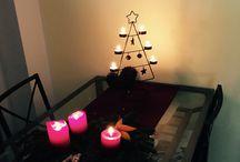 Weihnachten / Winter Deko DIY / Einige Deko Inspirationen für Weihnachten und Winter. Gemütliche Deko ganz einfach selbst gemacht. DIY mit Anleitungen!