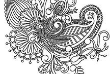 Coloring Pages for Adults / Free Printable Adult Coloring Pages