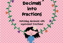 Decimals and Fractions Gr. 4/5