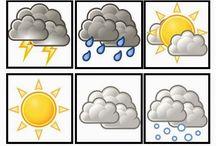 symbole pogody przedszkole