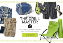 Father's Day: Grill Master / Gifts for the Dad who sears steak like a pro and keeps the cooler well stocked.