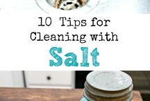 Natural Cleaning / Different Ideas for cleaning without the use of harsh chemicals