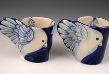 Pottery porcelain/baixo esmalte