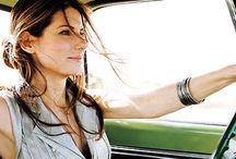 Sandra Bullock / I'm a big fan.