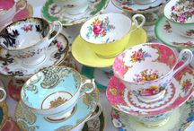 Vintage china for hire / A selection of my vintage china, vintage glasses and vintage cutlery hire collection. The hire catalogue as such...