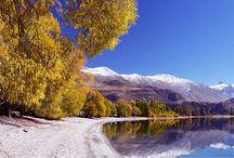 Озеро Хоея / Озеро Хоея очень глубокое-392 метра глубины, и среди самых глубоких озер занимает четвертое место, после Хауроко, Манапоури и Те-Анау.
