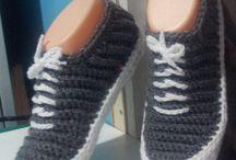 Slippers n shoes crochet
