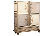 Metallic, Mirrored, Metal furniture aka It Sparkles and I HAVE to have it!