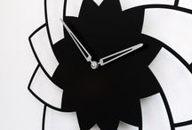 Design clock ANEMONE / Wall clock Anemone - Metal laser cutting - Design Jacques Lahitte © Tolonensis Creation - French Design - Made in Poland - www.tolonensis.com - You are interested with this clock ? Feel free to contact info@tolonensis.com - http://www.delorentis.eu/design-clock-anemone.html