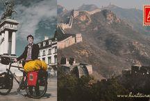 histoire.bike - la Route de la Soie / La Grande Voyageuse Classique histoire sur la Route de la Soie à la découverte de la Chine, du Kirghizistan, du Tadjikistan,de l'Ouzbékistan, du Kazakhstan, de la Géorgie jusqu'à la Turquie,  pour un voyage à vélo de plus de 10000 km.