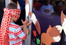 """What does the fox say?"" Birthday Party / by Bryanna Dent"