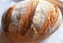 Mindenféle kenyér.kifli, zsemle, cibatta recept