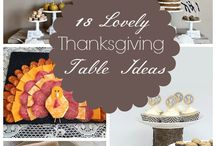 HOLIDAY * Thanksgiving / Lots of creative ways to show your thanks including family DIY and crafts and learning projects to use in the schoolroom.